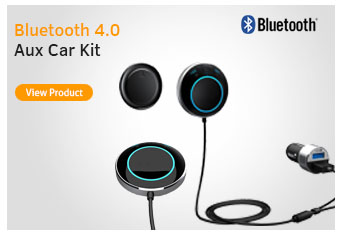 Bluetooth 4.0 Aux Car Kit