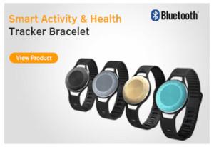 health tracker bracelet