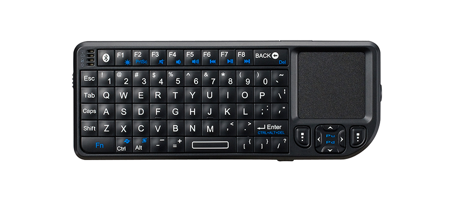 Bluetooth Wireless Touchpad Keyboard With Laser Zw